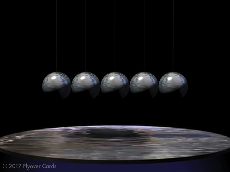 v1 Swinging Spheres-A - animation